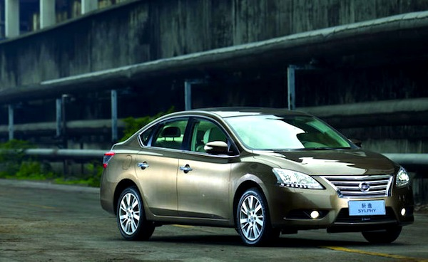 Nissan Sylphy China February 2013. Picture courtesy of autov.com.cn