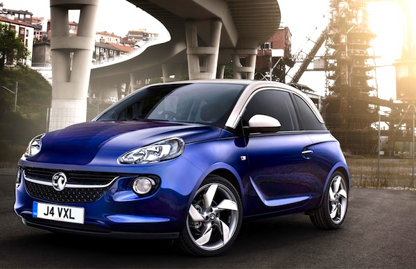 Opel Adam Netherlands February 2013