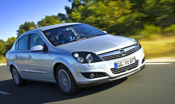 Opel Astra Croatia 2007