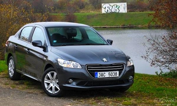Peugeot 301 Czech Republic February 2013