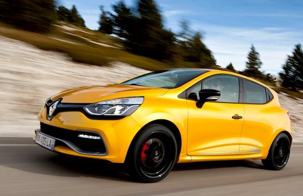 Renault Clio Austria February 2013