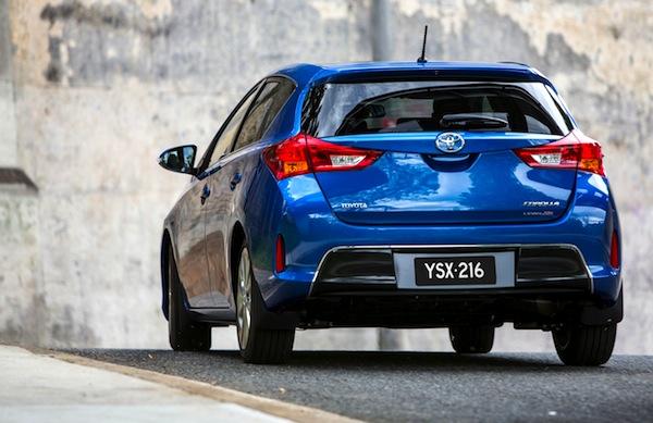 Toyota Corolla Australia March 2013