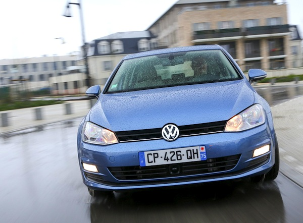 VW Golf Netherlands March 2013. Picture courtesy of L'Argus