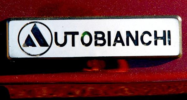 Autobianchi logo. Picture courtesy of autobianchi.org