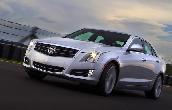 Cadillac ATS USA March 2013