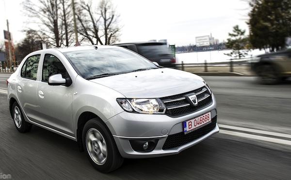 Dacia Logan World January 2013. Picture courtesy of www.autoevolution.com