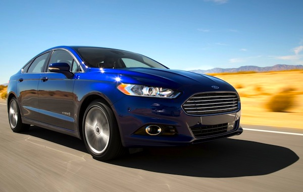 Ford Fusion USA March 2013