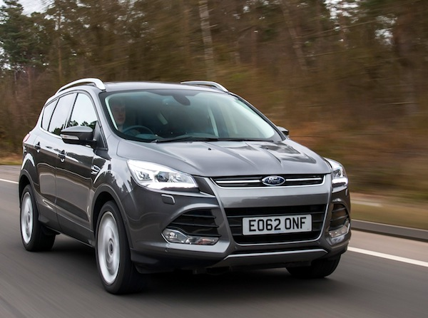 Ford Kuga UK June 2014
