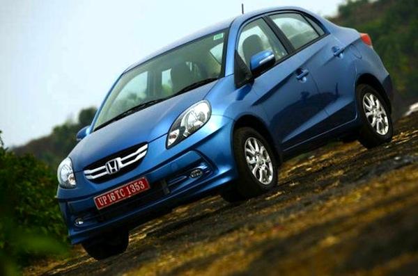 Honda Amaze India March 2013