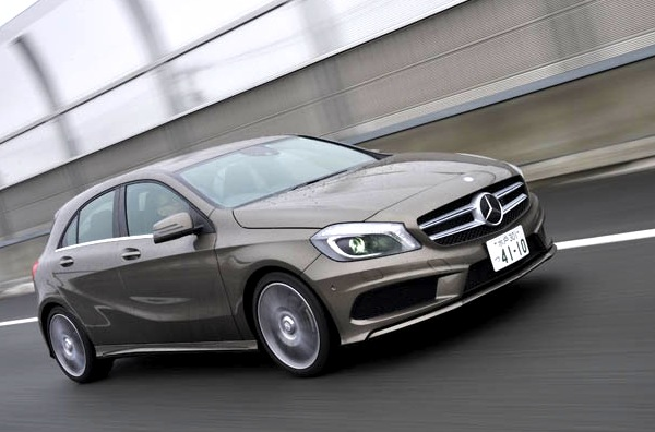 Mercedes A Class Japan March 2013