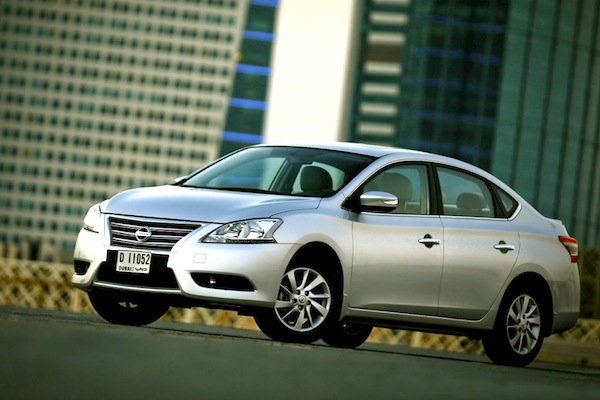2013 Nissan Sentra - f3q
