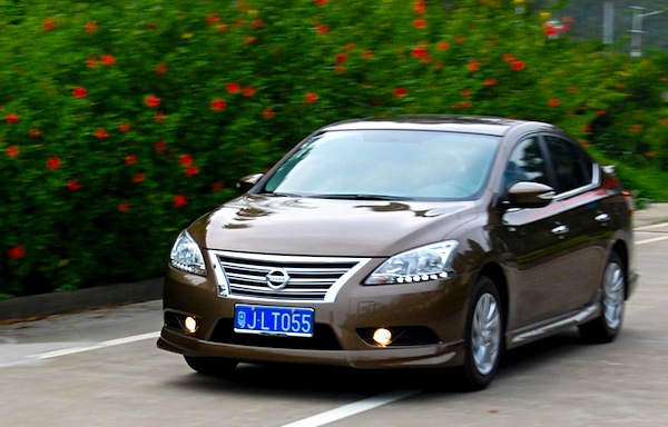 Nissan Sylphy China March 2013. Picture courtesy of bitauto.com
