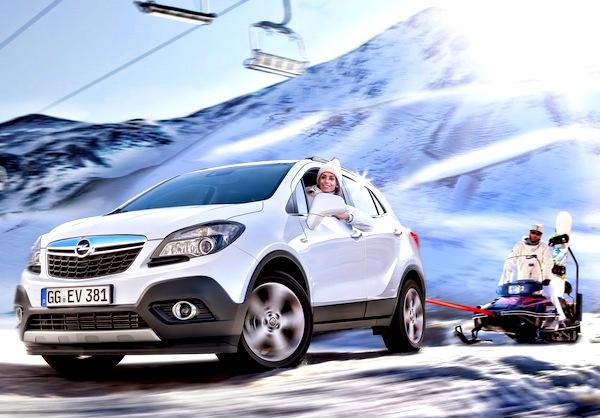 Opel Mokka Austria March 2013