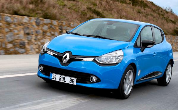 Renault Clio Turkey February 2013