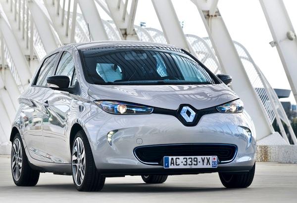 Renault Zoe France June 2014