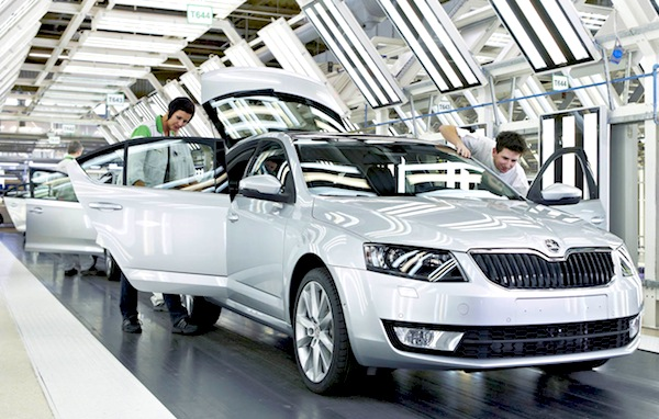 Skoda Octavia World May 2013