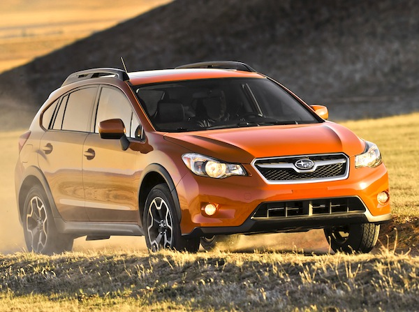 Subaru XV Crosstrek USA March 2013