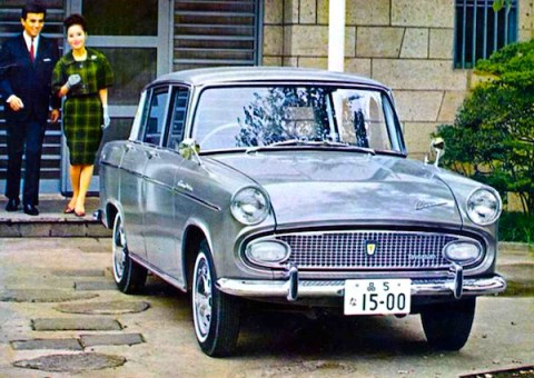 Toyota Corona 1960. Picture courtesy of autowp.ru