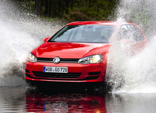 VW Golf Belgium March 2013