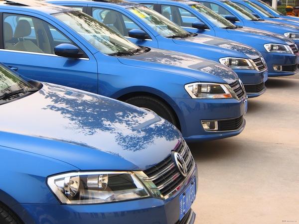 VW Lavida China March 2013. Picture courtesy of bitauto