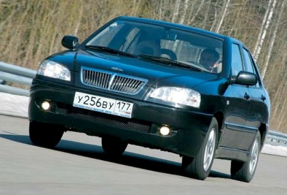 Chery Amulet. Picture courtesy of www.autowp.ru