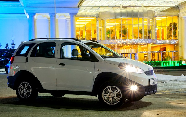 Chery Indis Russia 2012