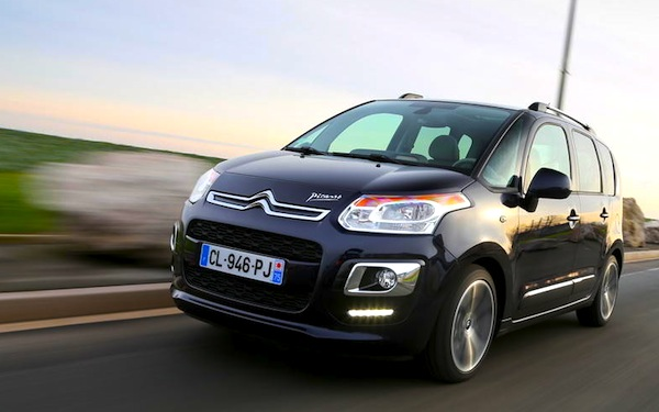 France 1 13 May 2013 Citroen C3 Picasso In Top 10 Best Selling