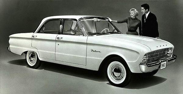 Ford Falcon 1960. Picture courtesy of poptartmagazine