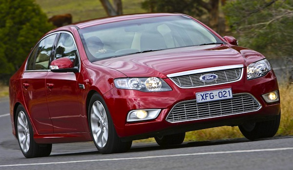 Ford Falcon 2008. Picture courtesy of themotorreport.com.au