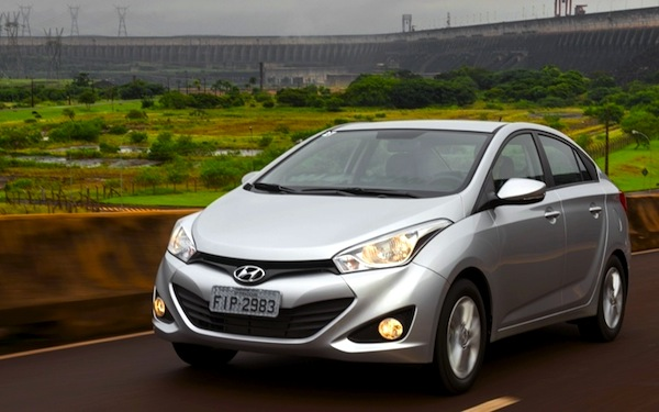 Hyundai HB20S Brazil April 2013