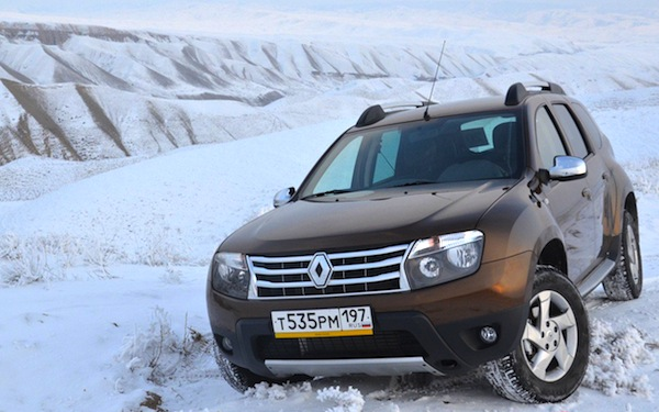 Renault Duster Russia April 2013. Picture courtesy of zr.ru