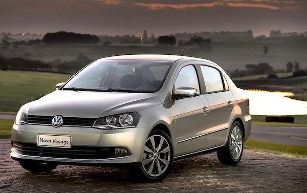 VW Voyage Brazil April 2013