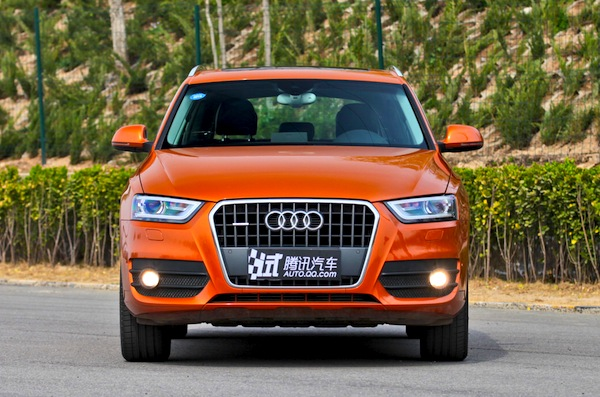 Audi Q3 China June 2014. Picture courtesy of auto.qq.com