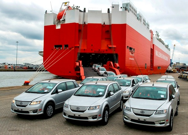 First BYD Electric e6 Cars Arrive In Europe And The UK