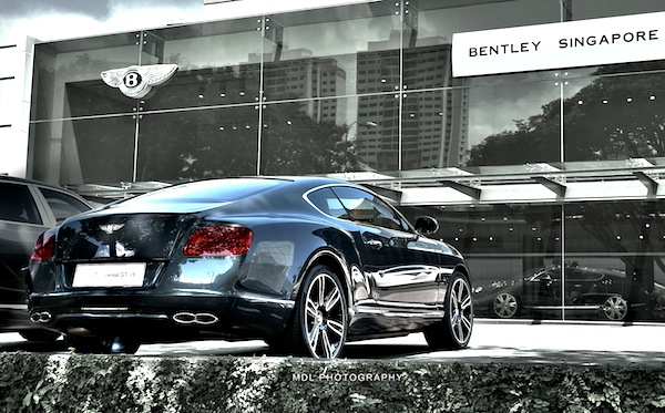 Bentley Continental GT Singapore May 2013