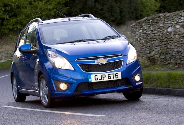 Chevrolet Spark Croatia May 2013