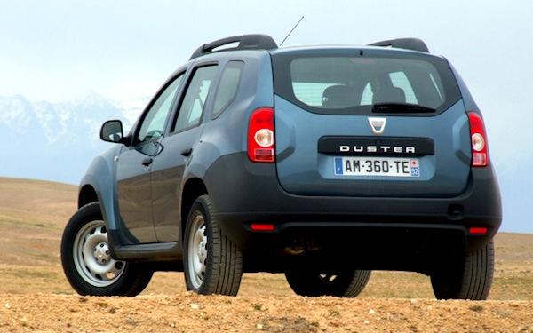 Dacia Duster Hungary May 2013