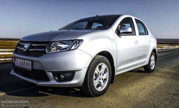 Dacia Logan Europe May 2013. Picture courtesy of autoevolution.com