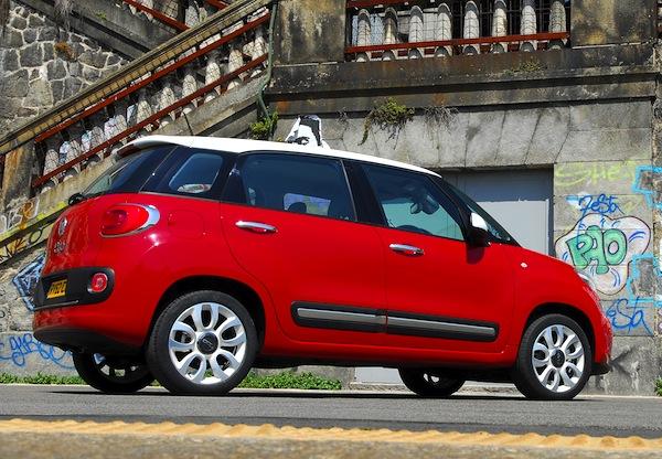Fiat 500L Italy May 2013