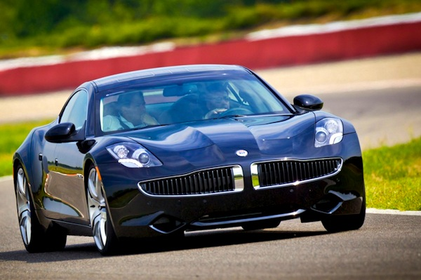 Fisker Karma Germany June 2013. Picture courtesy of wallippo.com