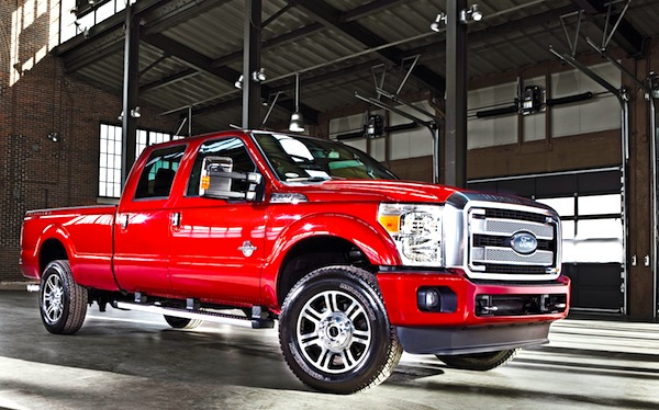 Ford F350 Canada June 2013