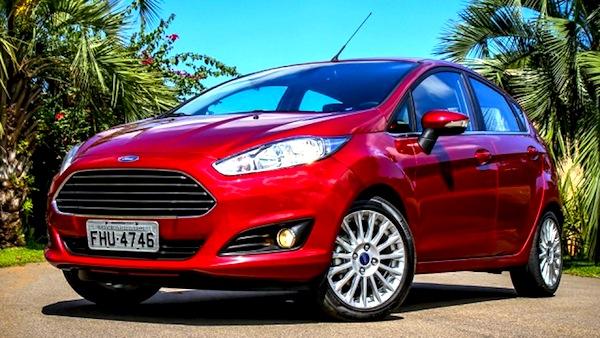 Ford Fiesta Brazil July 2013. Picture courtesy of blogauto.com.br