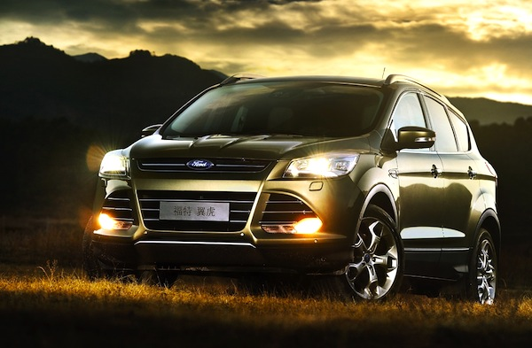 Ford Kuga World April 2013. Picture courtesy of biauto.com