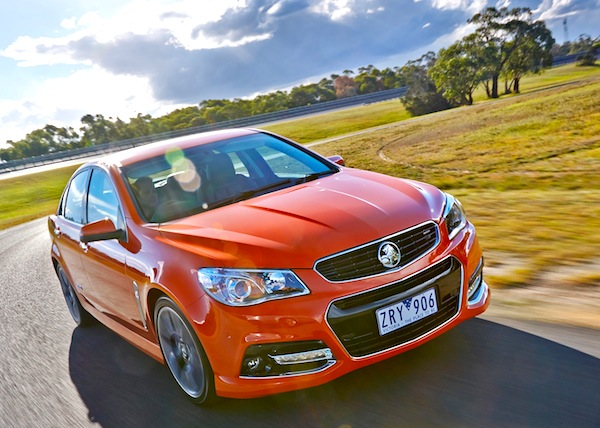 Holden Commodore Australia June 2013