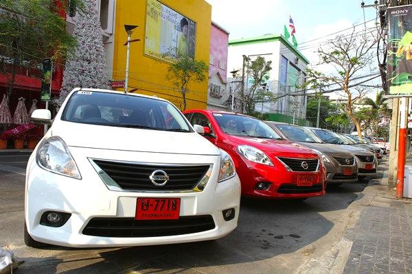 Nissan Almera Thailand May 2013. Picture courtesy of auto.sanook.com