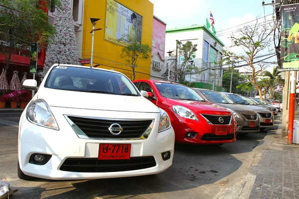 Nissan Almera Thailand May 2013. Picture courtesy of auto.sanook.com
