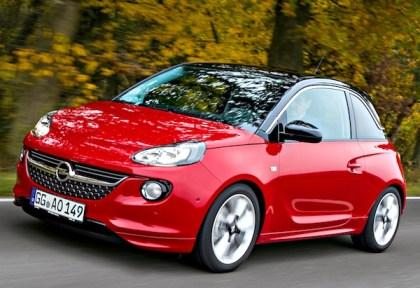 Opel Adam. Picture courtesy of autozeitung.de