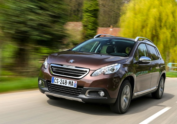 Peugeot 2008 France June 2012b. Picture courtesy of Largus
