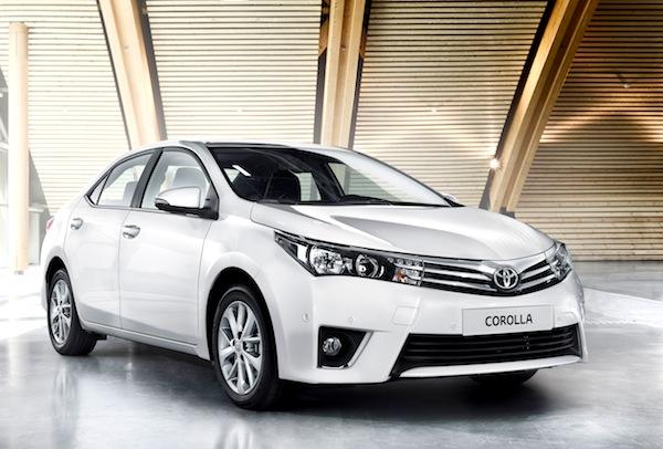 World The New Toyota Corolla Sedan Is Here Best Selling Cars Blog - Best toyota model