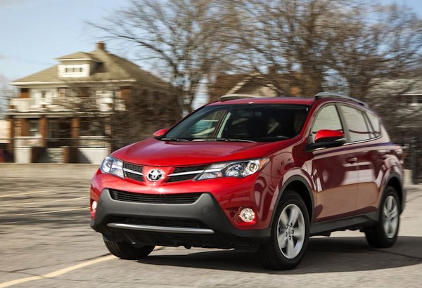 Toyota RAV4 USA July 2014. Picture courtesy of caranddriver.com